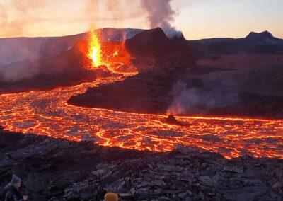 erupcion volcanica islandia 2021