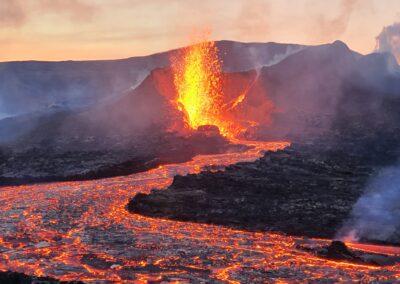 volcan islandia excursion