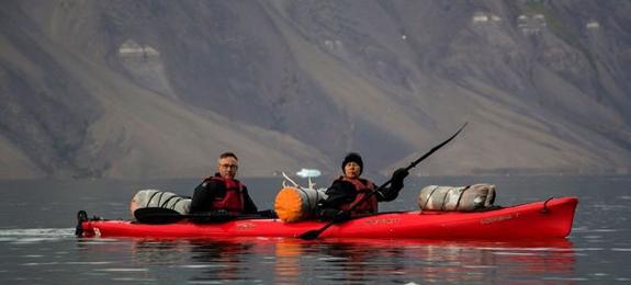 Svalbard-Kayak