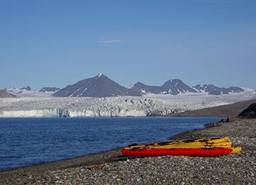 Svalbard viaje kayak