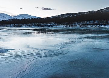 lago laponia suecia
