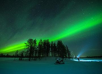 Auroras Boreales Suecia Laponia