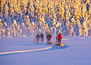 Laponia Suecia viaje invernal