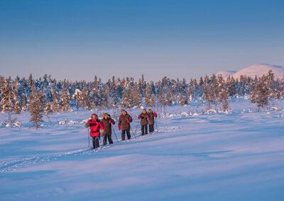 Raquetas Laponia Sueca