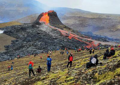 islandia erupcion volcan 2021