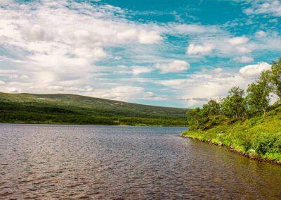 Abisko lagos senderismo