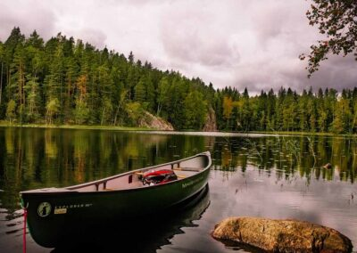 Canoa lagos Jokkmokk