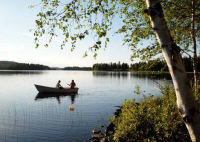 Canoa lagos Laponia