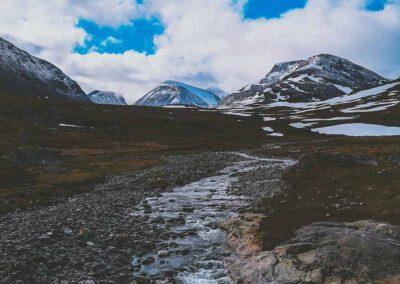 Kungsleden Suecia trekking