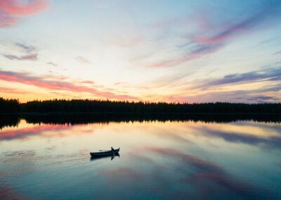 Suecia canoa Laponia
