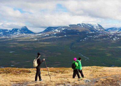 trekking laponia suecia
