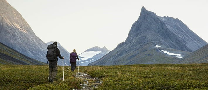 trekking-kungsleden laponia suecia